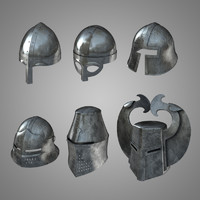 Medieval Helmets Collection