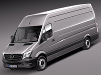 2013 2014 mercedes van 3d 3ds