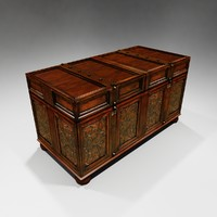 chest furniture 3d max
