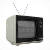 retro television set max
