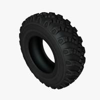 3d model tyre btr-90 gaz