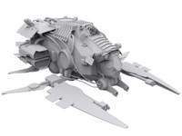 3d ships modular model