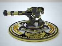 Cannon Steampunk