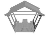 3d model of cardak arbor