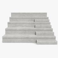 concrete stand 3d model