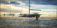 3d model ocean yacht