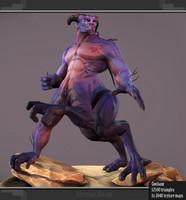 3d fbx centaur monster
