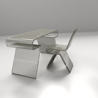 modern chair 2 3d 3ds