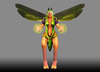 3ds fairy wasp