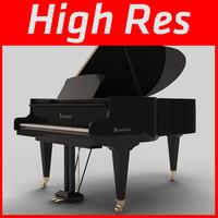 3dsmax resolution piano