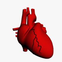 human heart 3d 3ds