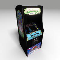 classic arcade 3d obj