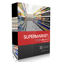 CGAxis Models Volume 32 Supermarket VRay