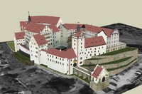 3ds max colditz castle