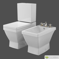 2nd Floor Collection Toilet and Bidet