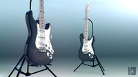 Electric Guitar. Fender Stratocaster