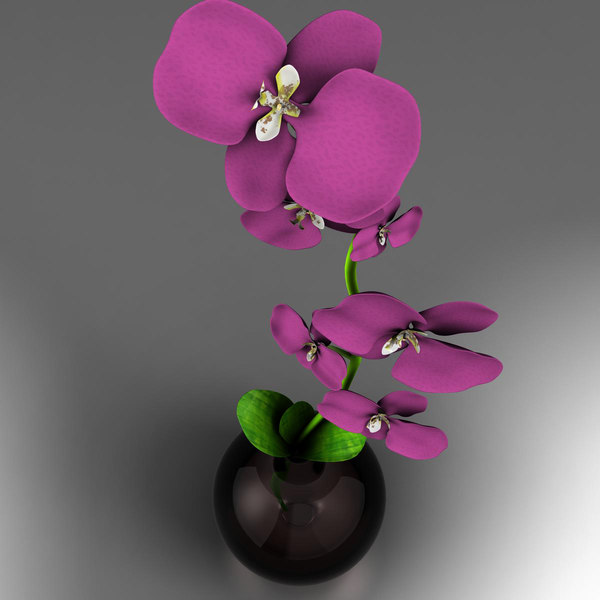 vase 3d model - Flower base... by mikebibby
