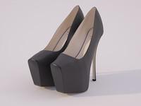 shoes 3d max