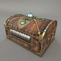 c4d treasure chest
