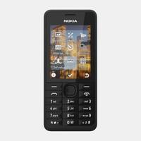 nokia 301 3d model