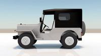 jeep kerala 3d max