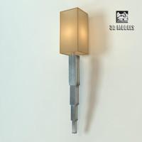fine lamps sconce 3d model