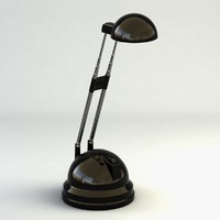 3d model of ikea lamp