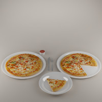 3ds max pizza
