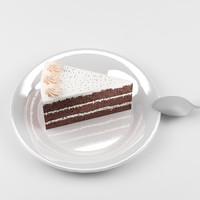 3d model 8 cake