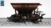 3dsmax freight wagon wk 02