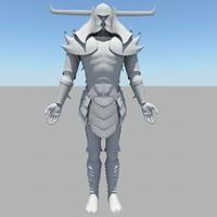 human japanese 3d model