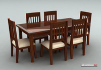 max dinning table set chairs