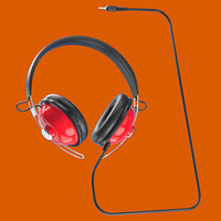 retro headphones 3 5 3d 3ds