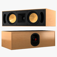 3d klipsch reference rc52 model