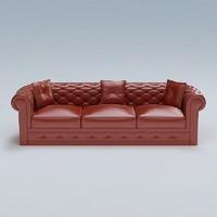 3d sofa hdri model