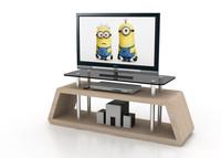minimalist designed tv stand