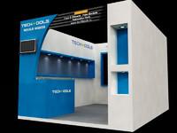 3dsmax exhibition stall