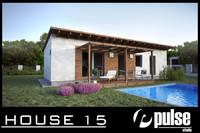 family house 15 3d model