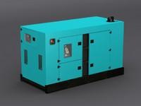 3ds max generator blue