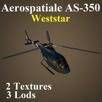 aerospatiale waa 3d model