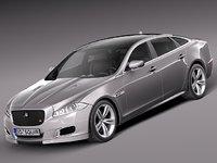 3d max 2014 sedan luxury