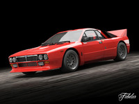 3ds max lancia 037 stradale
