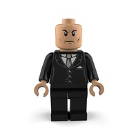 lex luthor 3d model