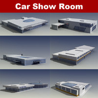 6 car show rooms