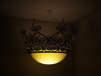 Chandelier hanging star
