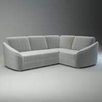 basic corner sofa donata obj
