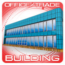 office trade building 3d 3ds