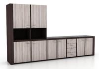 3dsmax huge kitchen cabinet