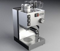 3d rancilio original espresso machine