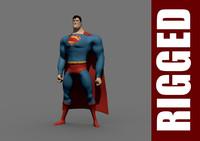 maya superman rig